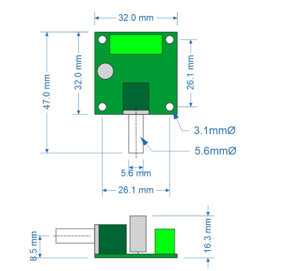 1.8-12V 2A PWM Motor Speed Controller