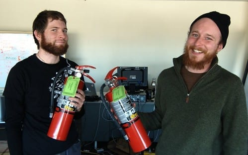 SparkFun's Honorary Canadian Firefighters